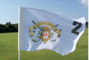Bandera de Golf con logoVenturygolf