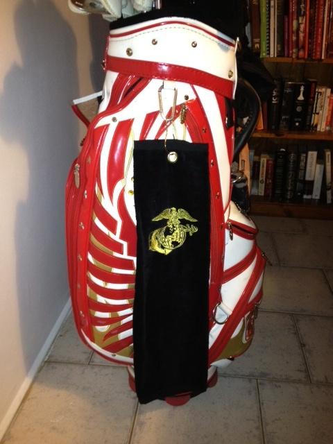 Toalla de golf con logo Venturygolf III