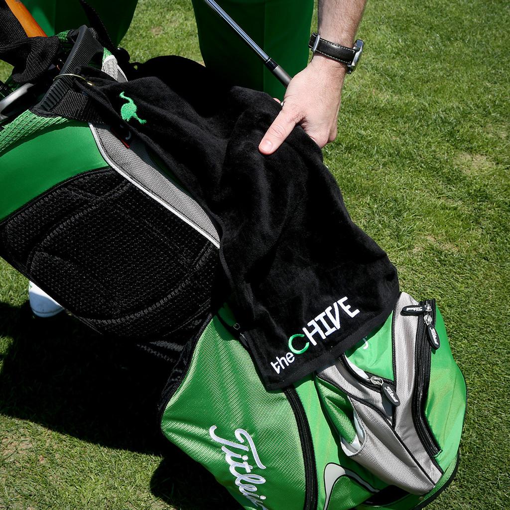 Toalla de golf con logo Venturygolf IV